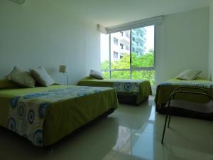 Apto 401 * Costa Azul, Ferienwohnungen  Santa Marta - big - 7