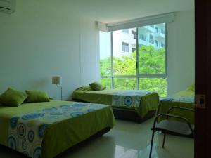 Apto 401 * Costa Azul, Ferienwohnungen  Santa Marta - big - 2
