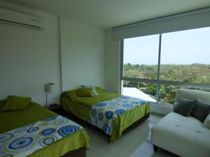 Apto 401 * Costa Azul, Ferienwohnungen  Santa Marta - big - 3