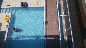 Hotel y Balneario Playa San Pablo, Отели  Monte Gordo - big - 90