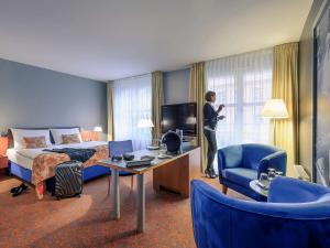 Mercure Hotel & Residenz Berlin Checkpoint Charlie, Hotel  Berlino - big - 23