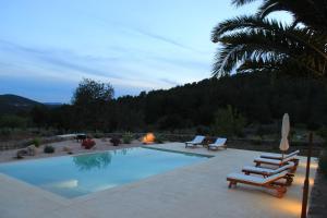 Casa Vilda, Vily  Sant Mateu d'Albarca - big - 23