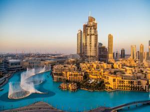 Grand Boulevard Holiday Homes - Burj Khalifa View - Dubai
