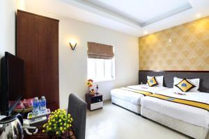 Hilary Hotel, Отели  Дананг - big - 24