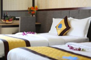 Hilary Hotel, Отели  Дананг - big - 1
