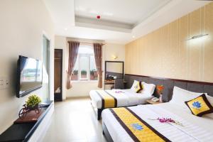 Hilary Hotel, Отели  Дананг - big - 6