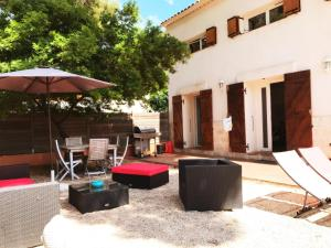 La Villa De Port-Miou, Apartmanok  Cassis - big - 43