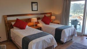 Tweepersoonskamer met 1 of 2 Bedden - Uitzicht op Zee