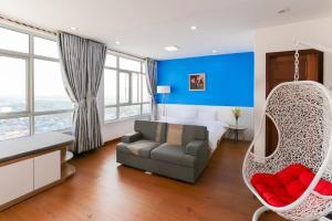 Hoang Anh Gia Lai Apartment B20.03, Apartmány  Da Nang - big - 35