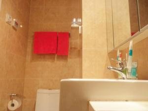 Dalian Xinshijia Ganghui Service Apartment, Апартаменты  Далянь - big - 29
