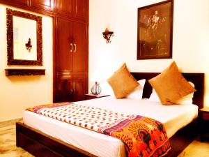 The Buddhayan Villa, Апартаменты  Джайпур - big - 23
