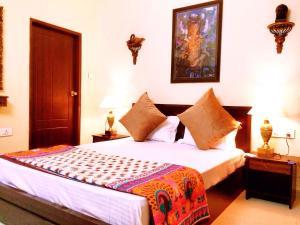 The Buddhayan Villa, Апартаменты  Джайпур - big - 30