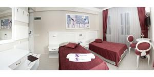 Savk Hotel, Hotely  Alanya - big - 5
