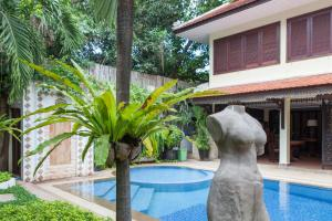 HanumanAlaya Colonial House, Hotels  Siem Reap - big - 36