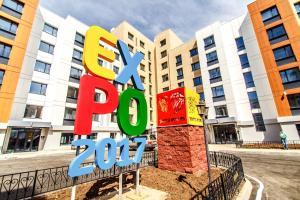 Apartments Expo-Boulevard, Apartmány  Astana - big - 17