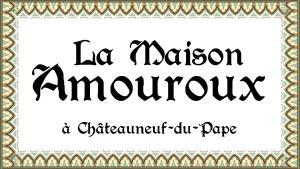 Maison Amouroux, Villák  Châteauneuf-du-Pape - big - 7