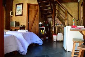 Chalé Bauzinho, Lodge  São Bento do Sapucaí - big - 36