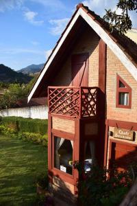 Chalé Bauzinho, Lodge  São Bento do Sapucaí - big - 1