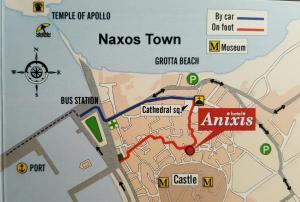 Hotel Anixis, Hotely  Naxos Chora - big - 67