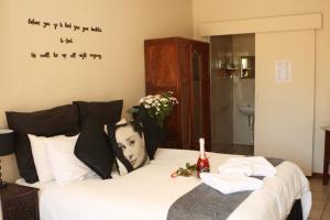 Zimmer mit Queensize-Bett