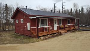 Näverniemi Holiday Center, Üdülőtelepek  Ivalo - big - 32