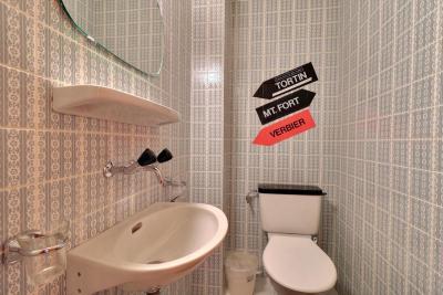 Retro badkamer ideeën om het te versieren nieuwe decoratie