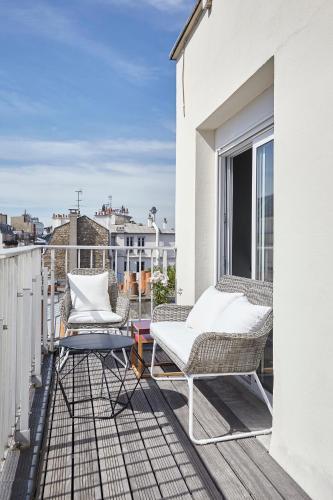 Appartement Lumineux avec terrasse photo 2