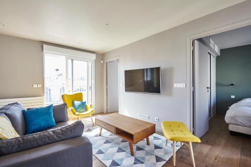 Appartement Lumineux avec terrasse photo 4