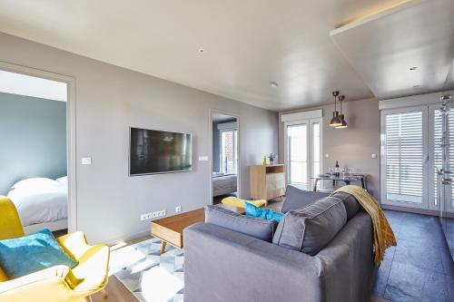 Appartement Lumineux avec terrasse photo 7