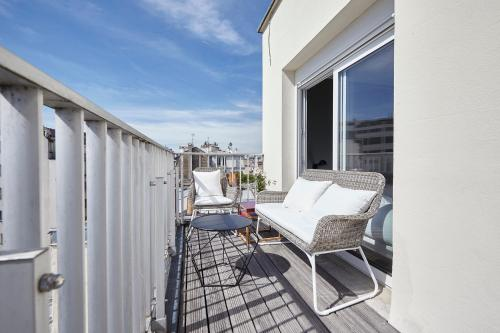 Appartement Lumineux avec terrasse photo 15