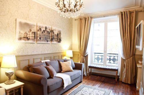 Apartment Ternes impression