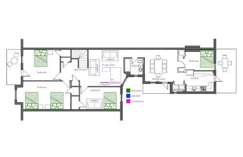 4-bedroom Mile-end Top Floor