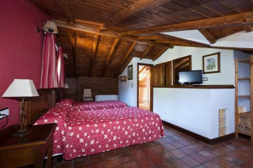 Attic Twin Room Coto del Valle de Cazorla 11