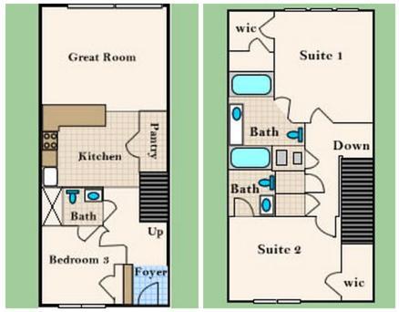 Windsor Hills Three Bedroom Townhouse Ha1 - Kissimmee, FL 34747