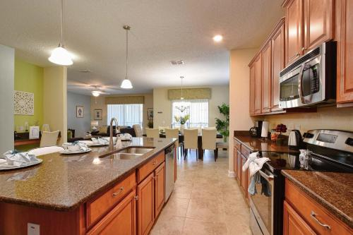 Paradise Palms Six Bedroom House With Private Pool 502 - Kissimmee, FL 34747