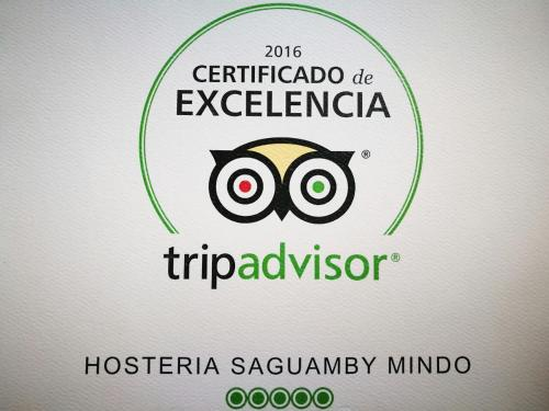 Hosteria Saguamby Mindo Photo