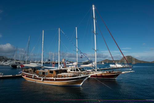 Bodrum City Barbaros Yachting Luxury Private Gulet 6 Cabins odalar