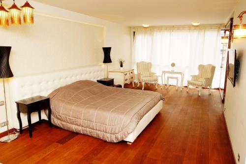 HotelIšskirtin?s Prabangos Apartamentai su Jacuzzi ir Sauna