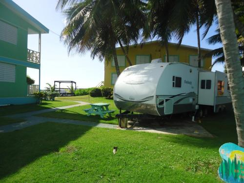 Camper Beach Front Photo
