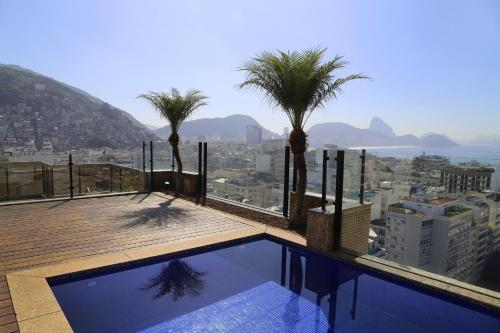 Rio034-Luxury 2 bedroom penthouse with pool