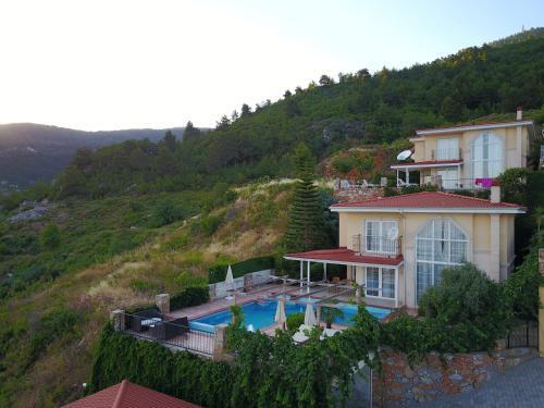 Alanya Panorama villa tek gece fiyat