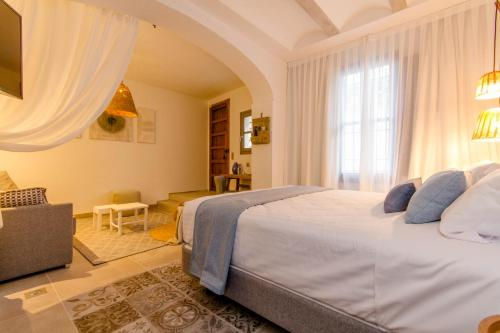 Deluxe Doppelzimmer mit Badewanne Hotel Boutique La Serena - Adults Only 9