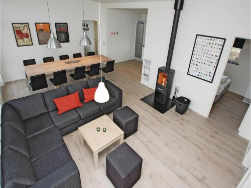 Four-Bedroom Holiday home Haderslev with a room Hot Tub 01