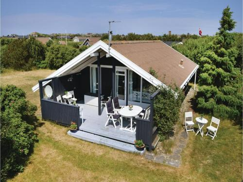 Holiday Home Ringkøbing with Fireplace V