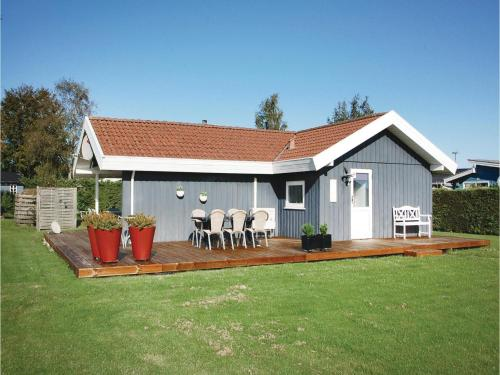Three-Bedroom Holiday home Hejls with a room Hot Tub 04
