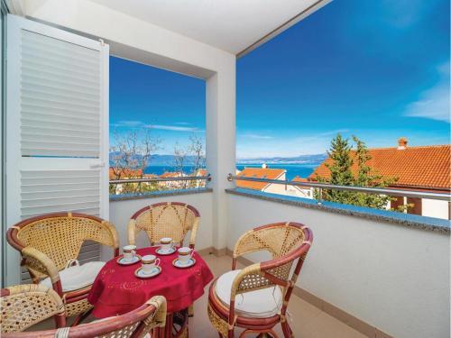 Apartment Njivice with Sea View IX