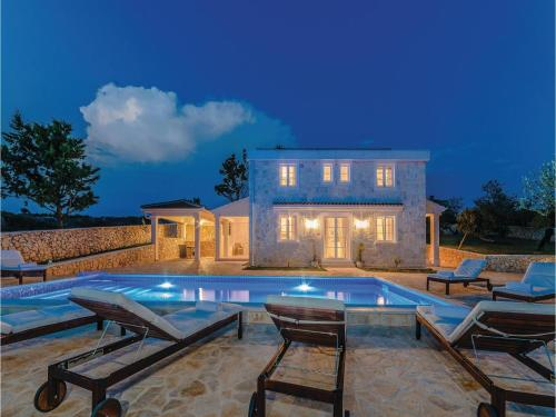 Holiday Home Skuncini Stani with Sea View VII in Croatia on