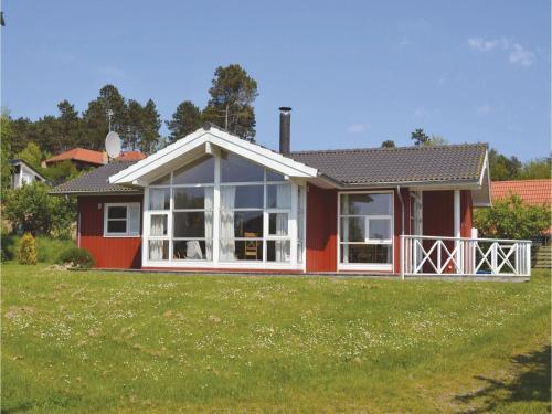 Holiday home Lykkevej Knebel VI