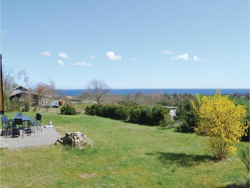 Three-Bedroom Holiday home Knebel with Sea View 03