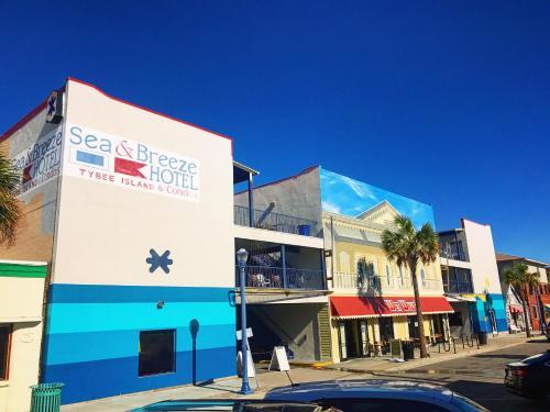 Sea And Breeze Hotel And Condo - Tybee Island, GA 31328